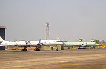 Airplane Picture - Il-38 of the Indian Navy at the Arakkonam Naval Air Station.