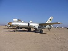Airplane Picture - An Iraqi Il-28 bomber junked at Al Taqaddum, Iraq.