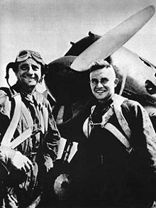Airplane Picture - VVS pilots at Khalkhin Gol in front of their I-16, august 1939.jpg