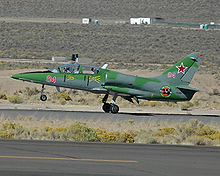 Airplane Picture - Civil L-39 in fictional Soviet 84th Light Strike Squadron markings
