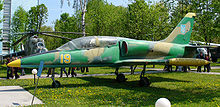 Airplane Picture - A Ukrainian L-39 in museum