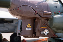 Airplane Picture - Mil Mi-28 nose sensors