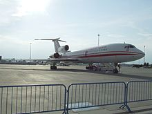 Airplane Picture - One of two Polish military VIP transport Tu-154M Lux aircraft from the 36th Special Air Transport Regiment, at Warsaw Frederic Chopin Airport. The other one crashed at Smolensk North Airport on April 10, 2010, killing all on board, including the Polish President.