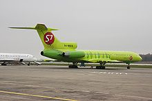 Airplane Picture - S7 Airlines Tu-154M