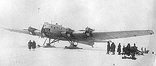 Airplane Picture - The first ANT-6 prototype
