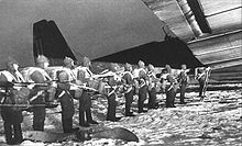 Airplane Picture - Paratroopers boarding TB-3 transport.