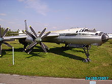 Airplane Picture - A Tu-116 preserved at Ulyanovsk Aircraft Museum