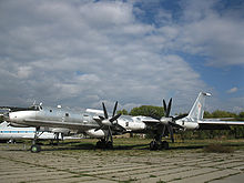 Airplane Picture - Tu-142 Bear F at the Kiev State Aviation Museum, Ukraine.