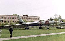 Airplane Picture - Tu-16 bomber at the Monino Museum.