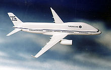 Airplane Picture - The planned experimental Tupolev Tu-206.