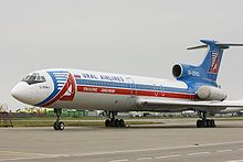 Airplane Picture - Ural Airlines Tu-154B-2