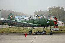 Airplane Picture - Yak-18A