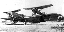 Airplane Picture - Zveno-1: Tupolev TB-1 and two Tupolev I-4
