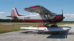 Airplane Picture - Tied down at the Franklin County State Airport, Highgate, VT