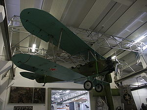 Warbird Picture - A Po-2 at a museum in Dresden, Germany