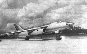 Warbird Picture - Three-quarter view of the second Il-54 prototype