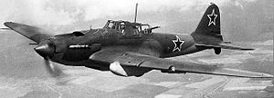 Warbird Picture - A Soviet Air Force Il-2M