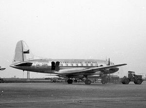 Warbird Picture - Ilyushin Il-12 of CSA Czech Airlines on scheduled service at Paris Orly Airport in 1957