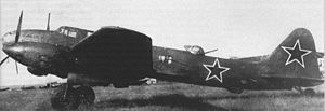 Warbird Picture - Il-6 with Charomsky ACh-30 B diesel engines.