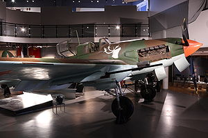 Airplane Picture - A restored Il-2 at Sx�r-Varanger museum in Norway.