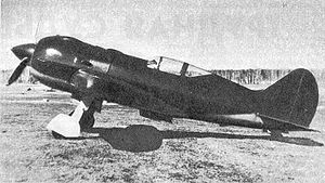 Warbird Picture - Side view of the I-185 with a M-71 engine