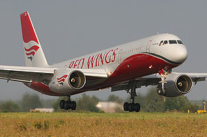 Warbird Picture - A Red Wings Airlines Tu-204-100