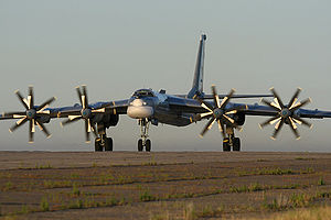 Warbird Picture - Tu-95MS at Engels Air Force Base