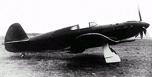 Warbird Picture - Early-model Yak-1 of Soviet Air Force