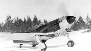 Warbird Picture - A Series 35 LaGG-3 (Finnish markings).