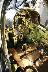 Airplane Picture - Cockpit of a Mirage III simulator of the Swiss Air Force.