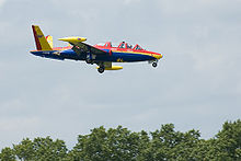 Airplane Picture - Fouga CM-170 Magister at Paris Air Show 2007