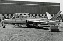 Airplane Picture - The first CM.170M development aircraft for the Aeronavale at the Paris Air Show in May 1957