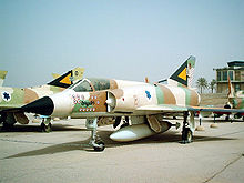Airplane Picture - Mirage IIICJ in Israeli Air Force museum (13 victory markings)