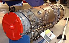 Airplane Picture - The Rolls-Royce Turbomeca Adour Mk 102 turbofan engine.