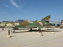 Airplane Picture - Super Mystere at the Israeli Air Force Museim in Hatzerim