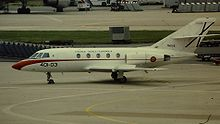 Airplane Picture - Spanish Air Force Falcon 20D in 1981