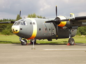 Warbird Picture - Nord 2501 Noratlas at the Airforce Museum of the Bundeswehr; Berlin-Gatow