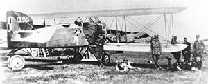 Warbird Picture - Polish Breguet 14 during the Kiev Offensive