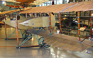 Airplane Picture - Side view of Caudron G.4 in Steven F. Udvar-Hazy Center.
