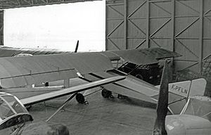 Warbird Picture - Caudron C.109 F-PFLN airworthy at Mitry-Mory airfield near Paris in May 1957