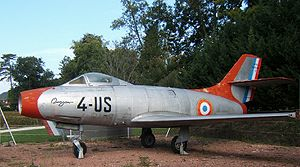Warbird Picture - A Dassault Ouragan with French Air Force markings