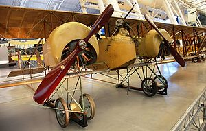 Airplane Picture - Caudron G.4 in Steven F. Udvar-Hazy Center