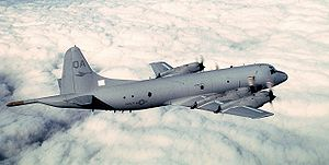 Warbird Picture - U.S. Navy P-3C Orion assigned to VP-22