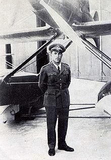 Airplane Picture - Warrant Officer Francesco Agello, test pilot of the Macchi M.C. 72