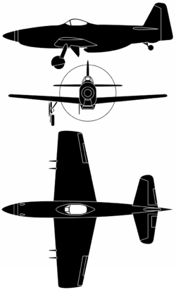 Airplane Pictures - Martin-Baker MB-5 Diagram