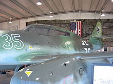 Warbird picture - Me 262 B-1a (White 35)