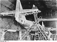 Warbird picture - Underground manufacture of Me 262s