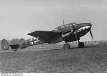 Airplane Picture - A ZG 76 Bf 110C with