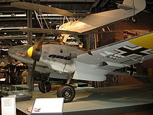 Airplane Picture - Bf 110 is on display in the Deutsches Technikmuseum Berlin