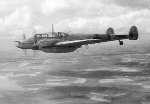 Airplane Picture - Bf 110 of Nachtjagdgeschwader 4 (NJG 4)